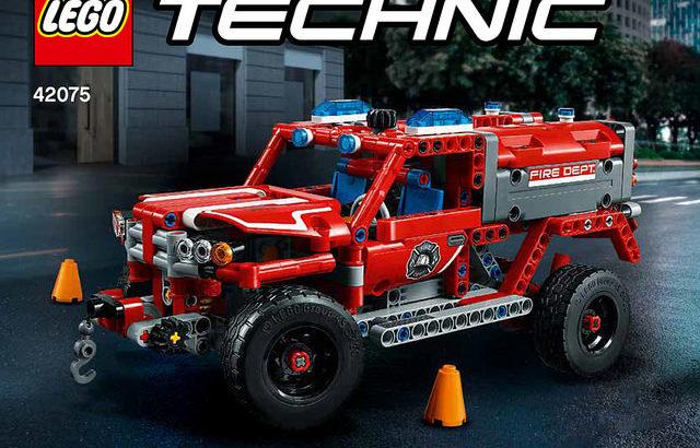 レゴ 42075 緊急救助車
