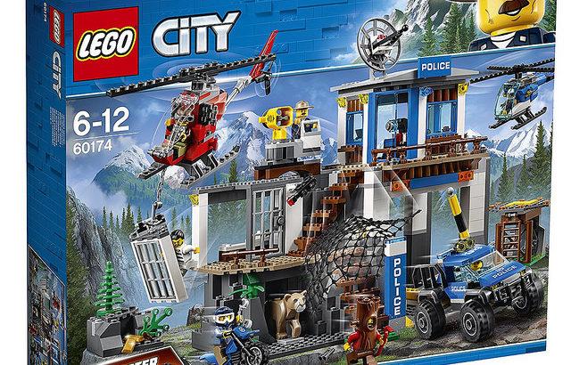 レゴ 60174 山のポリス指令基地