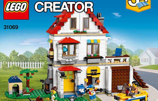 レゴ 31069 ファミリーコテージ