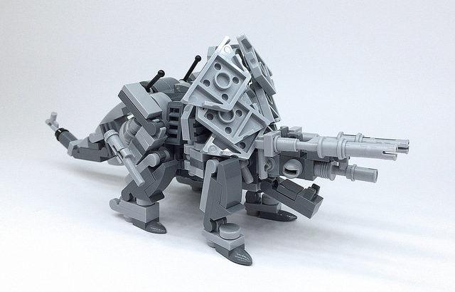 レゴ メカ「トリケラトプス」