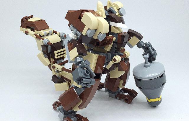 レゴ ロボ「RISU」