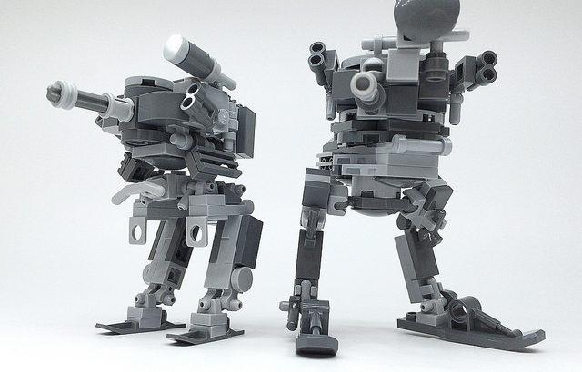 レゴ「二足歩行戦車」