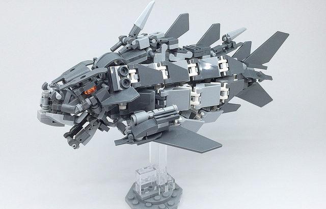 レゴ メカ「古代魚」