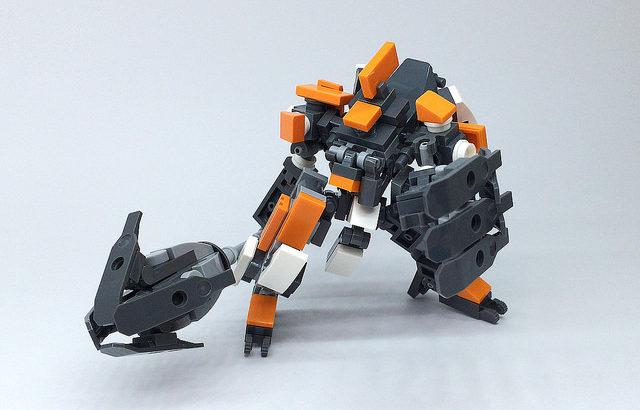 レゴ ロボ「Mk-7」