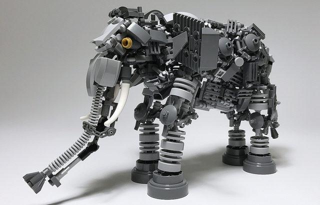 レゴ メカ「ゾウ」
