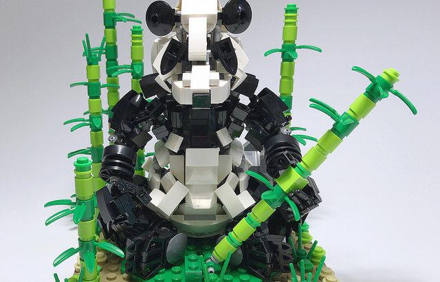 レゴ メカ「ジャイアントパンダ」