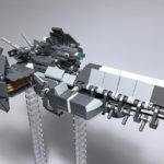 レゴ メカ「Nagas-class heavy frigate」