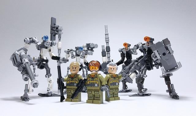 レゴ ロボ「セントリーボット 量産型」