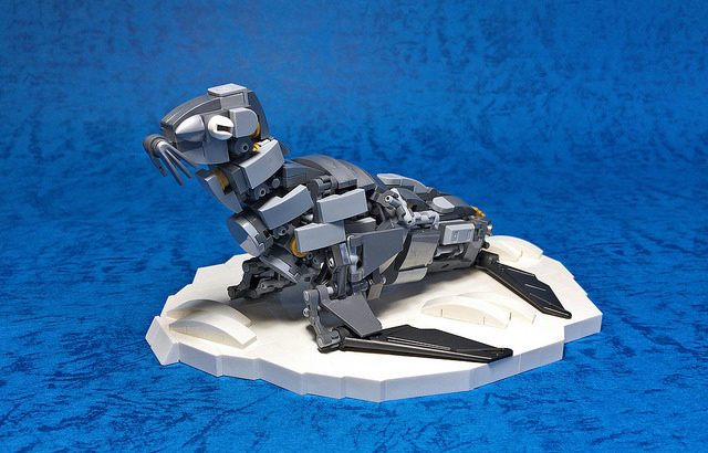 レゴ メカ「オットセイ」