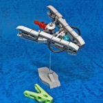 レゴ メカ「洗濯バサミ型宇宙船」