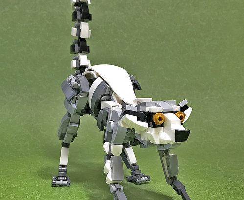 レゴ メカ「ワオキツネザル」