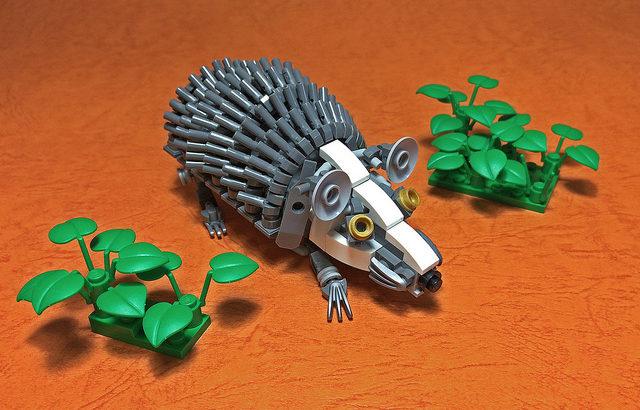 レゴ メカ「ハリネズミ」