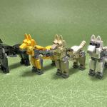 レゴ メカ「犬(小型モデル)」