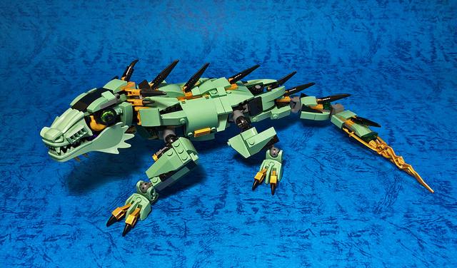 レゴ メカ「70612 rebuild」