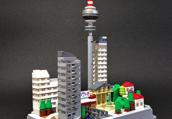 レゴ「パズルシティ」
