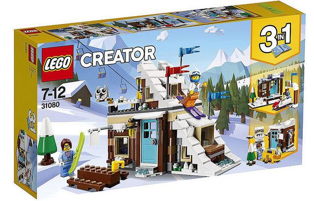 レゴ 31080 ウィンターバケーション