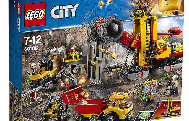 レゴ 60188 ゴールドハント 採掘場
