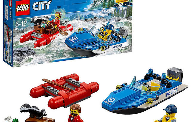 レゴ 60176 激流のボートチェイス