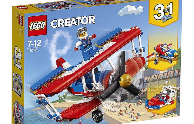 レゴ 31076 スタント飛行機
