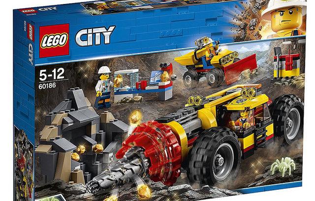 レゴ 60186 ガリガリドリルカー