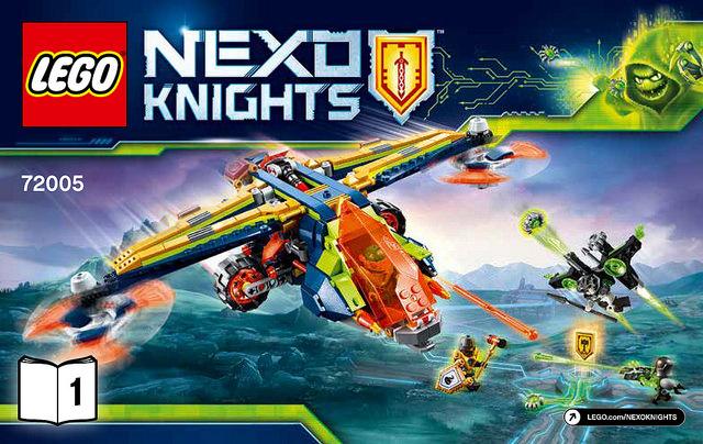 レゴ 72005 アーロンのX-ボウ
