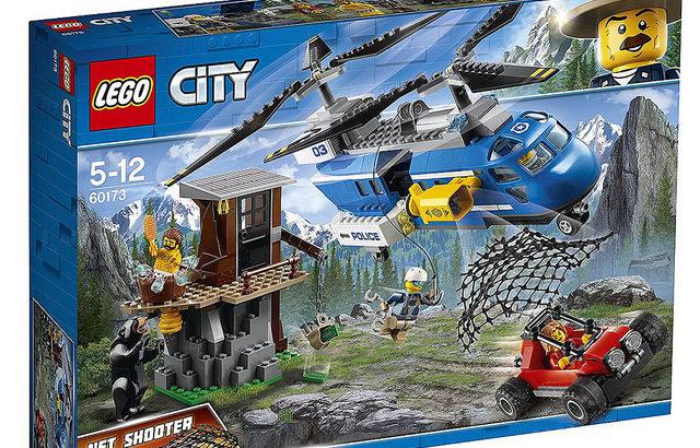 レゴ 60173 山の逮捕劇