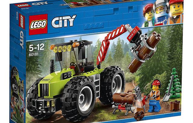 レゴ 60181 森のパワフルトラクター