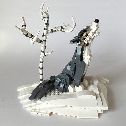 Miro Dudas氏のレゴ作品