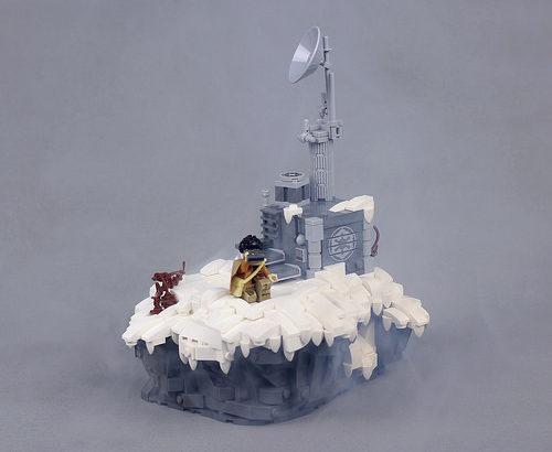 Andrew JN氏のレゴ作品