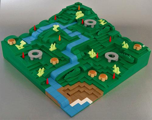 simply bricking it氏のレゴ作品