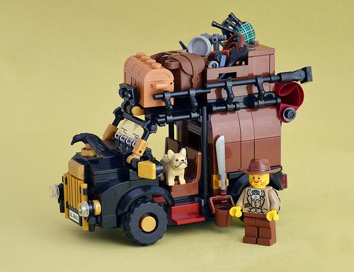 IamKritch氏のレゴ作品
