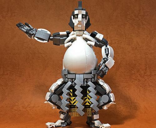 レゴ メカ「ロボット相撲レスラー」