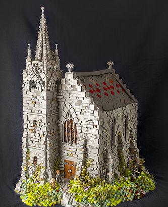 Legonardo Davidy氏のレゴ作品