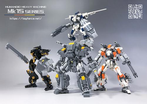 レゴ ロボ「TF-Mk15 series」