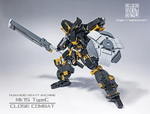 レゴ ロボ「TF-Mk15【Type-C】」