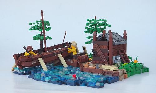 W. Navarre氏のレゴ作品