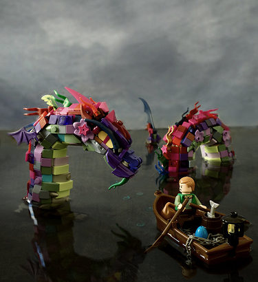 Simon NH氏のレゴ作品