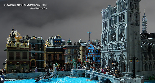 Castor Troy氏のレゴ作品