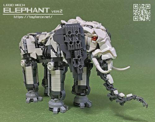 レゴ メカ「ゾウ ver2」
