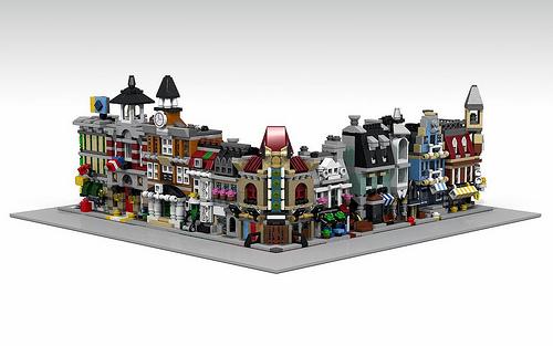 Oscar Cederwall (o0ger)氏のレゴ作品