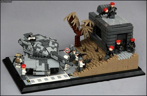 Mereel Skirata氏のレゴ作品