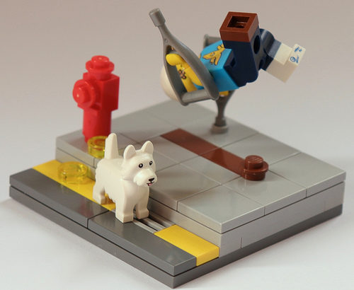 Johnnie Tee氏のレゴ作品