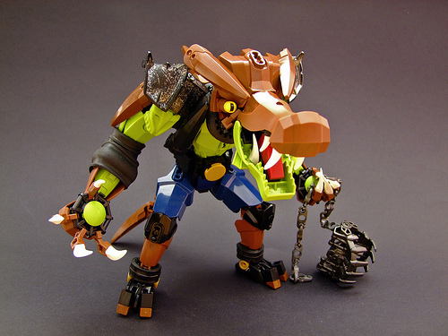 Djokson氏のレゴ作品