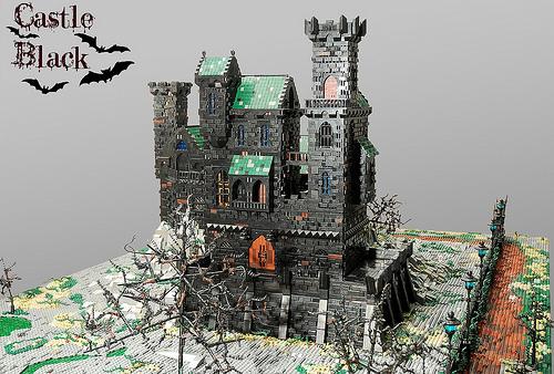 Montgomery Burns氏のレゴ作品