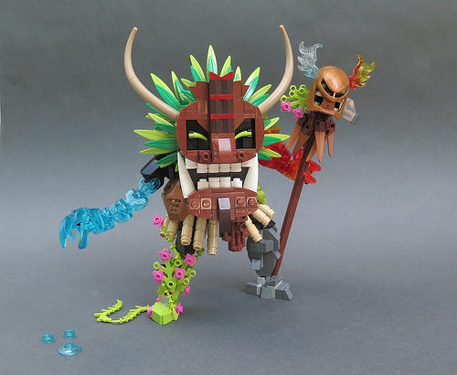 rockmonster 2000氏のレゴ作品