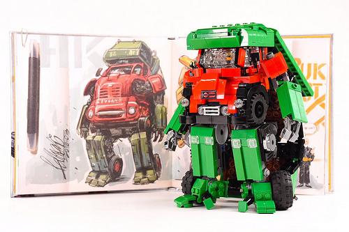 Chak hei Mok氏のレゴ作品