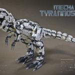 レゴ メカ「ティラノサウルスMk-2」