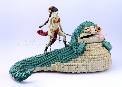 Iain Heath氏のレゴ作品