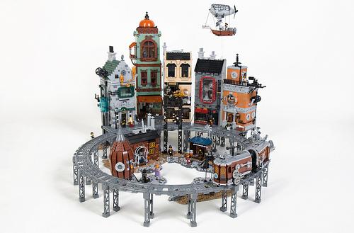 Dwalin Forkbeard氏のレゴ作品
