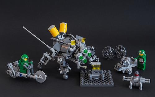 Galaktek氏のレゴ作品